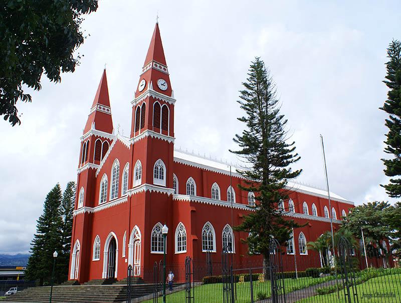 Unique Metal Church in Central America